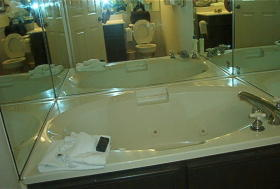 Silverleaf's Piney Shores Resort - Unit Bathroom