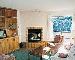 Crown Point Condominiums - Unit Living Area