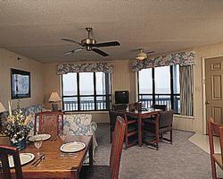 Outer Banks Beach Club - Unit Dining Area