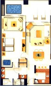 The Grand Mayan Riviera Maya - Floor Plan