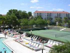 Star Island Resort - tennis courts