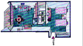 Beach Quarters Resort - Unit Floor Plan