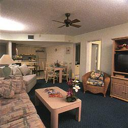 Smuggler's Cove Resort - Unit Living Area