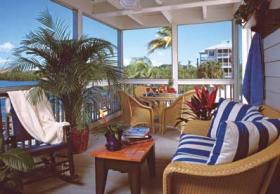 Hyatt Beach House Resort - Unit Porch