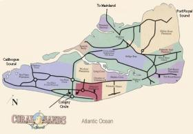 Coral Sands Resort - Hilton Head Island Map