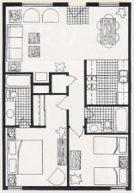 Eagle Point - Unit Floor Plan
