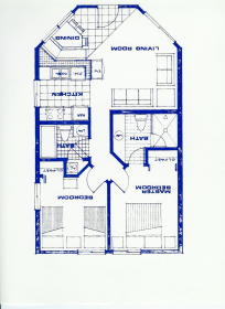 Ocean Sands Beach Club - Unit Floor Plan
