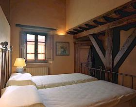 Unit bedroom at Borgo di Vagli