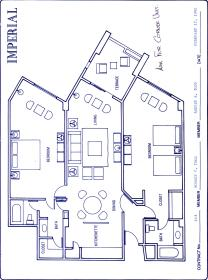 Imperial Fiesta Club at Hotel Casa Maya - Imperial Suite Layout
