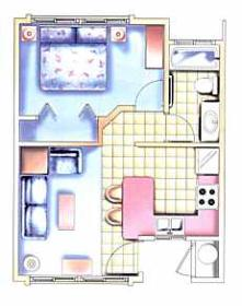 Kahana Falls - Unit Floor Plan