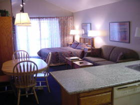 Park Plaza - Unit Dining & Living Areas