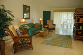 Silver Lake Resort - Unit Living Area