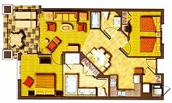 HGVC at Waikoloa Beach Resort - Unit Floor Plan