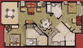 Marriott's Newport Coast Villas - Unit Floor Plan