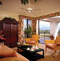 HGVC at Waikoloa Beach Resort - Unit Living Area