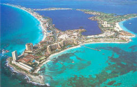 Krystal International Vacation Club Cancun - ariel view