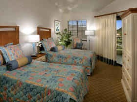 Lawrence Welk Resort Villas - Unit Bedroom