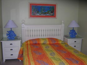 Coconut Palms II Beach Resort - Unit Bedroom