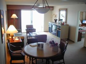 Ka'anapali Beach Club - unit living and dining areas