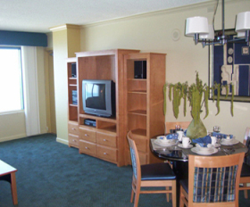 Daytona Beach Regency - Unit Living Area