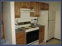 Twin Rivers Condominiums - Unit Kitchen