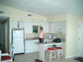 Ocean Beach Club - Kitchen area inside a unit