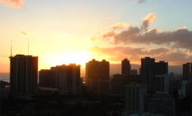 Lifetime in Hawaii - Sunset View From Lanai