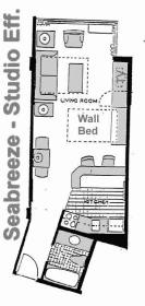 The Americano Beach Resort - Seabreeze Floor Plan