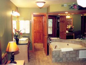Westgate Smoky Mountain Resort at Gatlinburg - Unit Bathroom