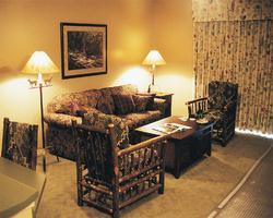 Wyndham Smoky Mountains  - Unit Living Area