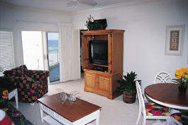 Escapes to the Gulf at Orange Beach - Unit Living Area