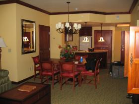 Unit Dining/Living Area