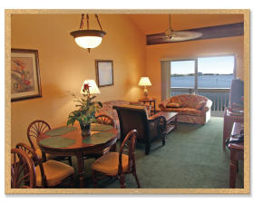 The Resort at Fishermen's Village - Unit Dining/Living Area