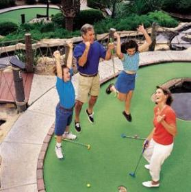 Marriott's Harbour Lake - Miniature Golf
