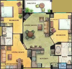 Royal Tahitian Floor Plan