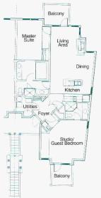 Carriage Hills Resort - Unit Floor Plan